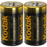 Kodak D 1.5v Alkaline Battery - 2 Pack