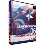 12 Inch Design ThemeBlox HD Unit 06 - Patriotic and Election