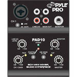 Pyle Pro PAD10MXU 2-Channel Mixer and USB Audio Interface