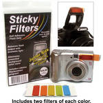 "Sticky Filter Sticky Filters for Flash (Junior, 0.5 x 1.5"", Set of 5)"