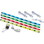Crystal Bright RGB LED Accent Strip--White (90-240VAC)