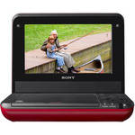 "Sony DVP-FX750R 7"" Portable DVD Player (Red)"