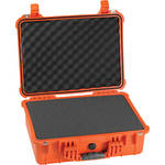 Pelican 1520 Case with Foam (Orange)