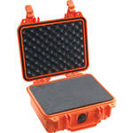 Pelican 1200 Case with Foam (Orange)