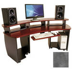 Omnirax OmniDesk Audio / Video Workstation (Pewter Gray Brush)