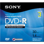 Sony 1.4 GB DVD-R (3 Discs)