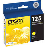 Epson 125 Yellow Ink Cartridge