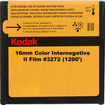 Kodak 16mm Color Internegative II Film #3272 (1200')