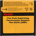 Kodak 35mm Fine Grain Duplicating Panchromatic Black and White Negative Movie Film #2334 (2000')
