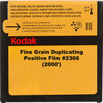 Kodak 35mm Fine Grain Duplicating Positive Black and White Movie Film #2366 (2000')