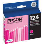 Epson 124 Moderate-Capacity Magenta Ink Cartridge