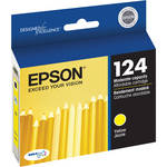 Epson 124 Moderate-Capacity Yellow Ink Cartridge