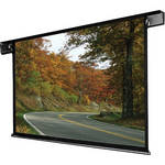 "Draper 112213QL Envoy 58 x 104"" Ceiling-Recessed Motorized Screen with Low Voltage Controller and Quiet Motor (120V)"