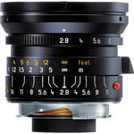 Leica 24mm f/2.8 Elmarit M Asph. Manual Focus Lens (6-Bit)- Black