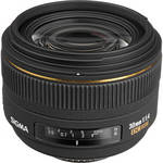 Sigma 30mm f/1.4 EX DC HSM Autofocus Lens for Nikon Digital