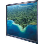 "Da-Lite Polacoat Da-Glas In-Wall Square Format Rear Projection Diffusion Screen (96 x 96 x 0.4"", Deluxe Frame)"