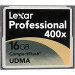 Lexar 16GB Professional 400x CompactFlash Card (One Card)