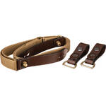 Billingham Waist Strap with Attachment Clips (Chocolate Brown)