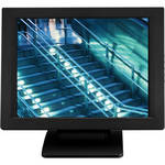 "Eversun Technologies LP-15A34U 15"" LCD POS Monitor with Abon Touchscreen and Credit Card Reader (Black)"