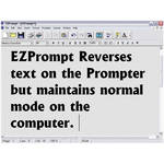 Listec Teleprompters EZPrompt Teleprompting Program