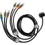 Scosche sneakPEEK II Switchable Component & Composite Audio/Video Cable