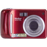 Vivitar Vivicam T324N Digital Camera (Strawberry)
