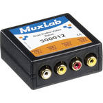 MuxLab Dual Audio-Video Balun