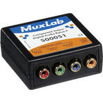 MuxLab Component Video/Digital Audio Balun (Female)