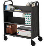Bretford BOOVF21 Double Sided Book Truck (Anthracite Finish)