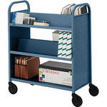 Bretford BOOVF21 Double Sided Book Truck (Topaz Finish)