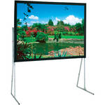 "Draper 241319 Ultimate Folding Projection Screen with Extra Heavy Duty Legs (77.5 x 124"")"