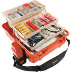 Pelican 1460EMS Case with EMS Organizer/Divider Set (Orange)