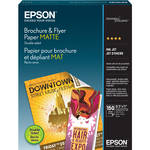 "Epson Brochure/Flyer Paper Matte for Ink Jet 8.5 x 11"" / 150"
