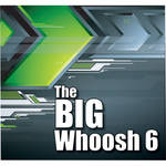 Sound Ideas The Big Whoosh 6 Royalty-Free Sound Effects Collection (Audio CD)