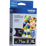 Brother LC75BK Innobella High Yield XL Black Ink Cartridge