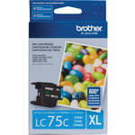 Brother LC75C Innobella High Yield XL Series Cyan Ink Cartridge