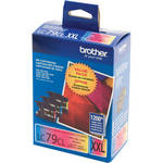 Brother LC793PKS Innobella Super High Yield XXL Cyan, Magenta, and Yellow Ink Cartridges