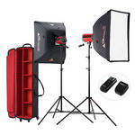 Photoflex StarFlash 300W Dual LiteDome Kit with Case