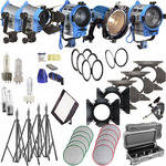 Arri Softbank IV Plus 5 Light Kit (120V AC)