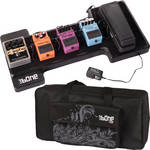 Gator Cases G-Bone Pedal Board with Carry Bag and Power Supply (Wave Black)