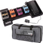 Gator Cases G-Bone Pedal Board with Carry Bag and Power Supply (Wave Grey)