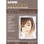"Ilford Galerie Smooth Heavyweight Matte Paper - 8.5x11"" - 50 Sheets"