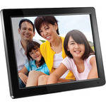 "Aluratek 12"" Digital Photo Frame (Black)"