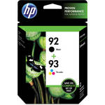 HP 92/93 Combo-Pack Inkjet Print Cartridges