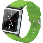 iwatchz Q Collection Watch Band for 6th Generation iPod nano (Green)