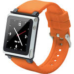 iwatchz Q Collection Watch Band for 6th Generation iPod nano (Orange)