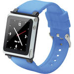 iwatchz Q Collection Watch Band for 6th Generation iPod nano (Blue)
