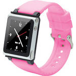 iwatchz Q Collection Watch Band for 6th Generation iPod nano (Pink)