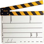 "ikan PS01 9x11"" White Production Slate"