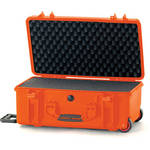 HPRC 2550 Wheeled Hard Case with Cubed Foam Interior (Orange)